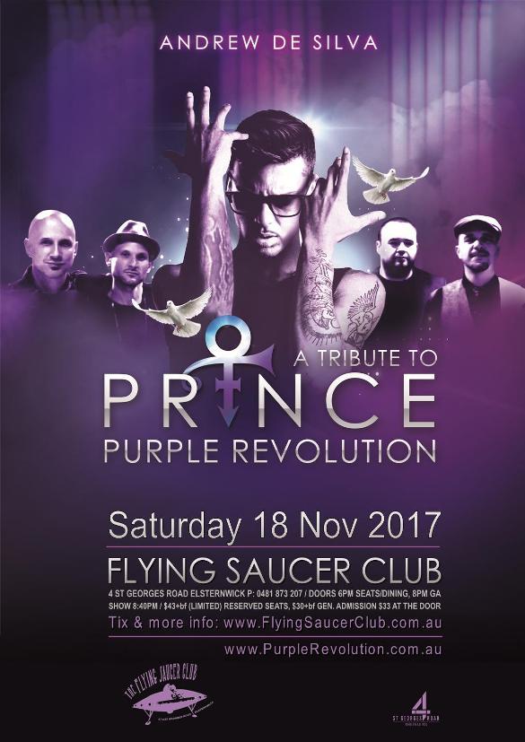 Andrew De Silva - Purple Revolution - In loving memory of PRINCE (A Tribute to Prince)