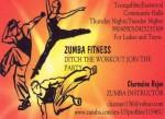 Zumba Instructor Charmaine Rajan